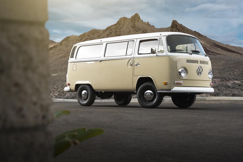 VW dropped an e-Golf powertrain into this Type 2 Microbus thumbnail