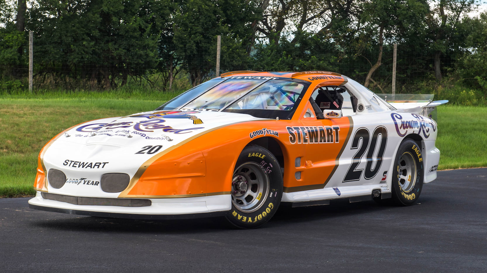 1996 Pontiac Firebird Trans AM IROC race car