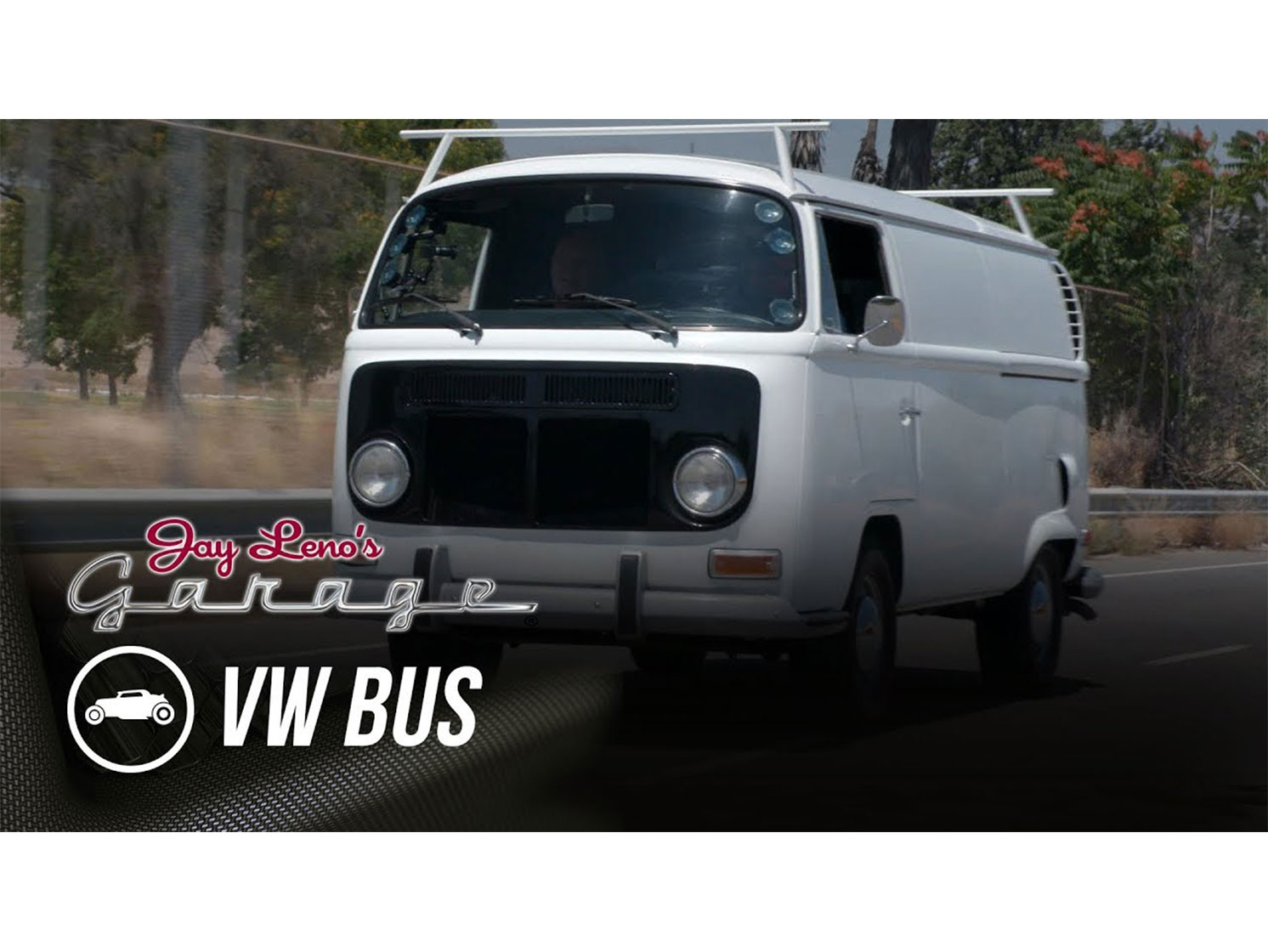 Jay Leno hosts Peter Brock and a Buick-swapped '71 VW Transporter thumbnail