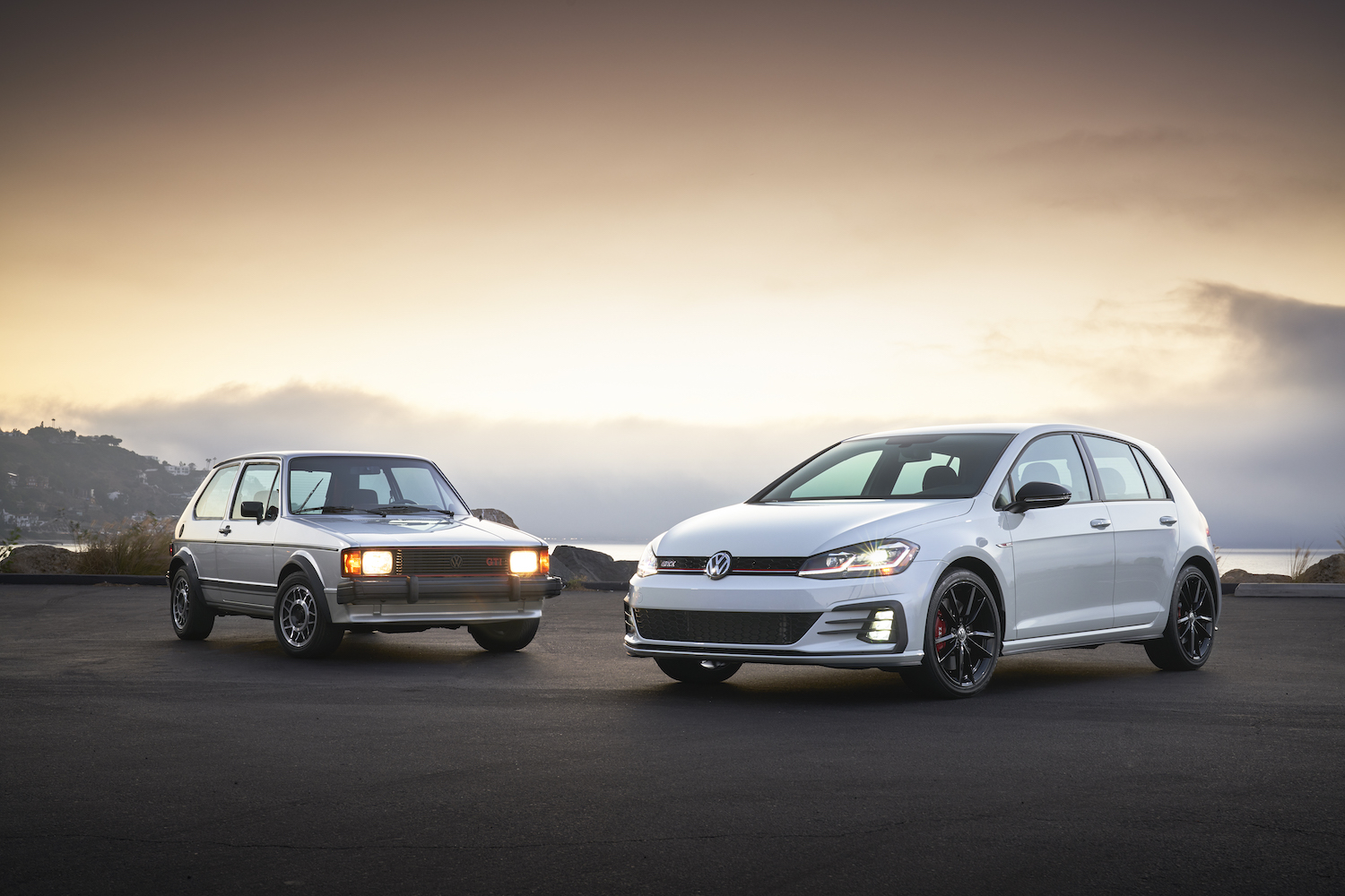 1984 Mk1 Rabbit with 2019 GTI Rabbit Edition