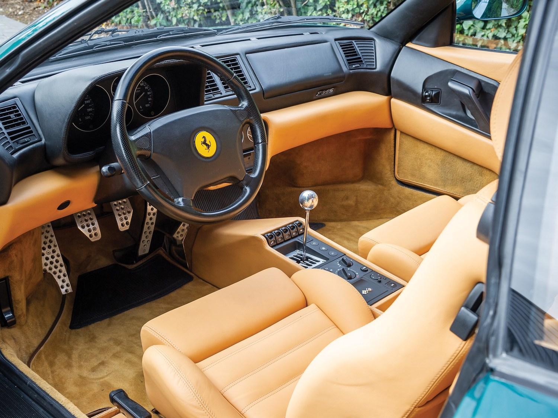 1997 Ferrari F355 Berlinetta interior
