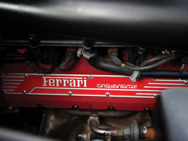 1997 Ferrari F355 Berlinetta engine valve cover