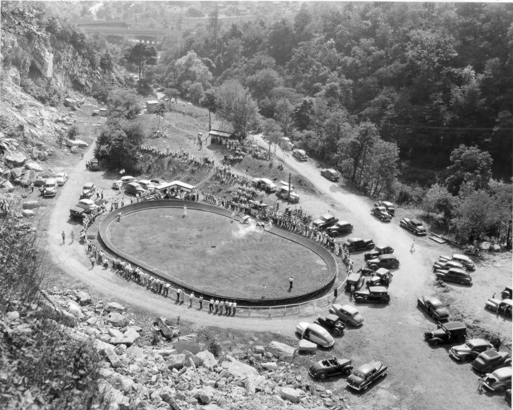 tether car pennsylvania track