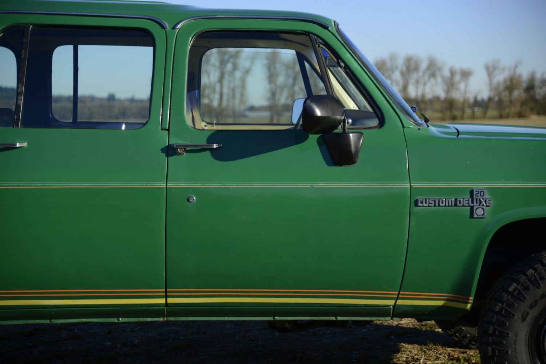 1981 Chevrolet Suburban K20 4×4 4-Speed