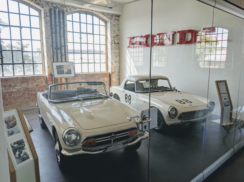 Klassikstadt vintage honda race cars