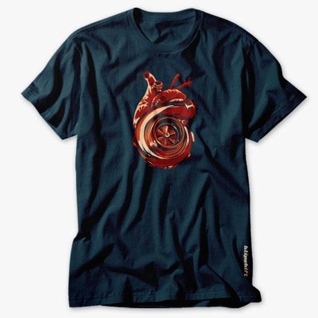 Turbo Heart blipshift t-shirt