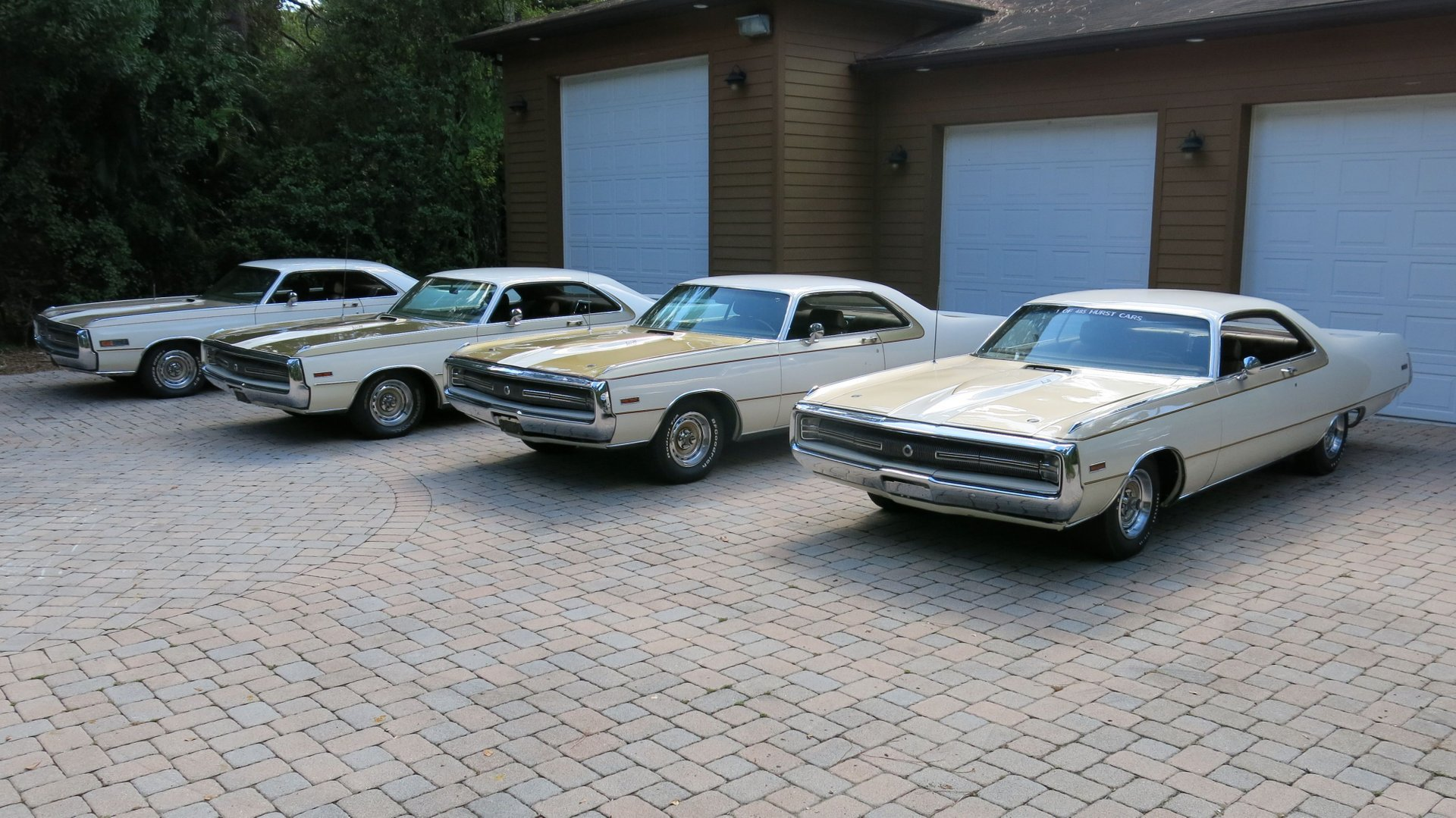 1970 Chrysler 300 Hurst Harttop