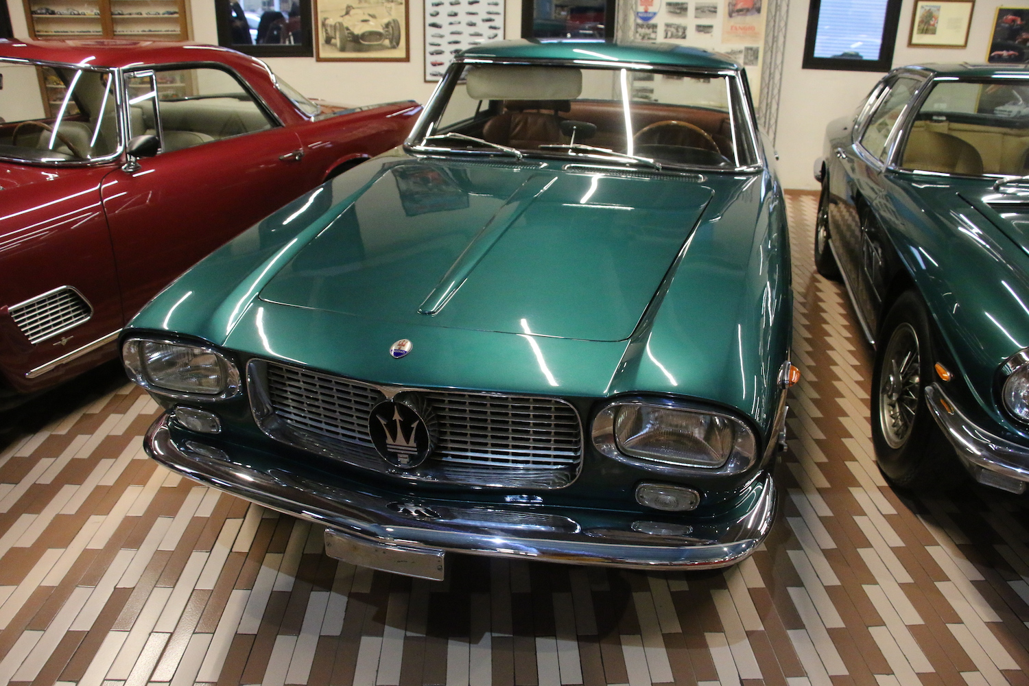 maserati 5000 gt from panini collection