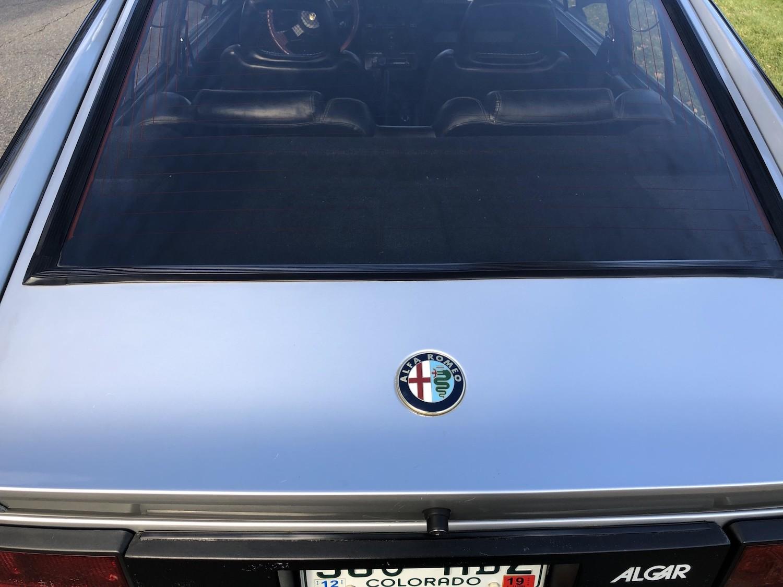1984 Alfa Romeo gtv6 maratona