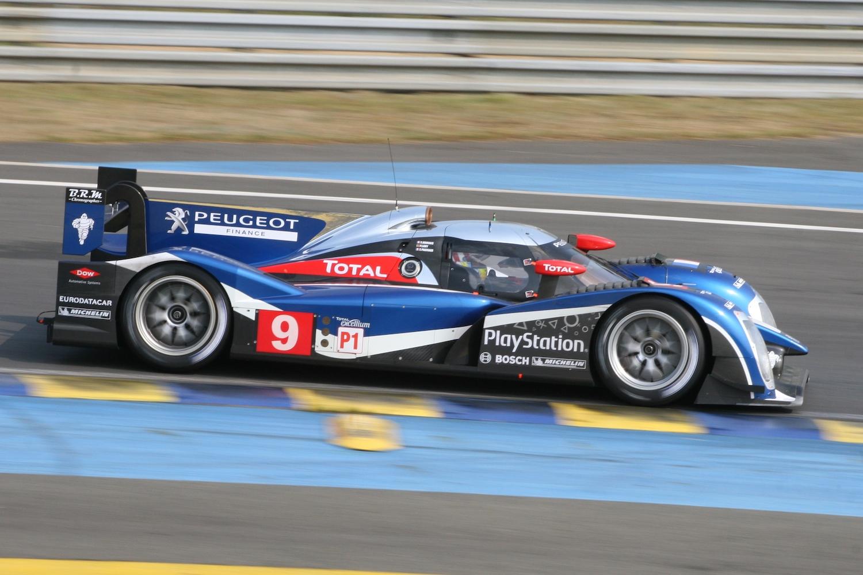 908 race car side profile action