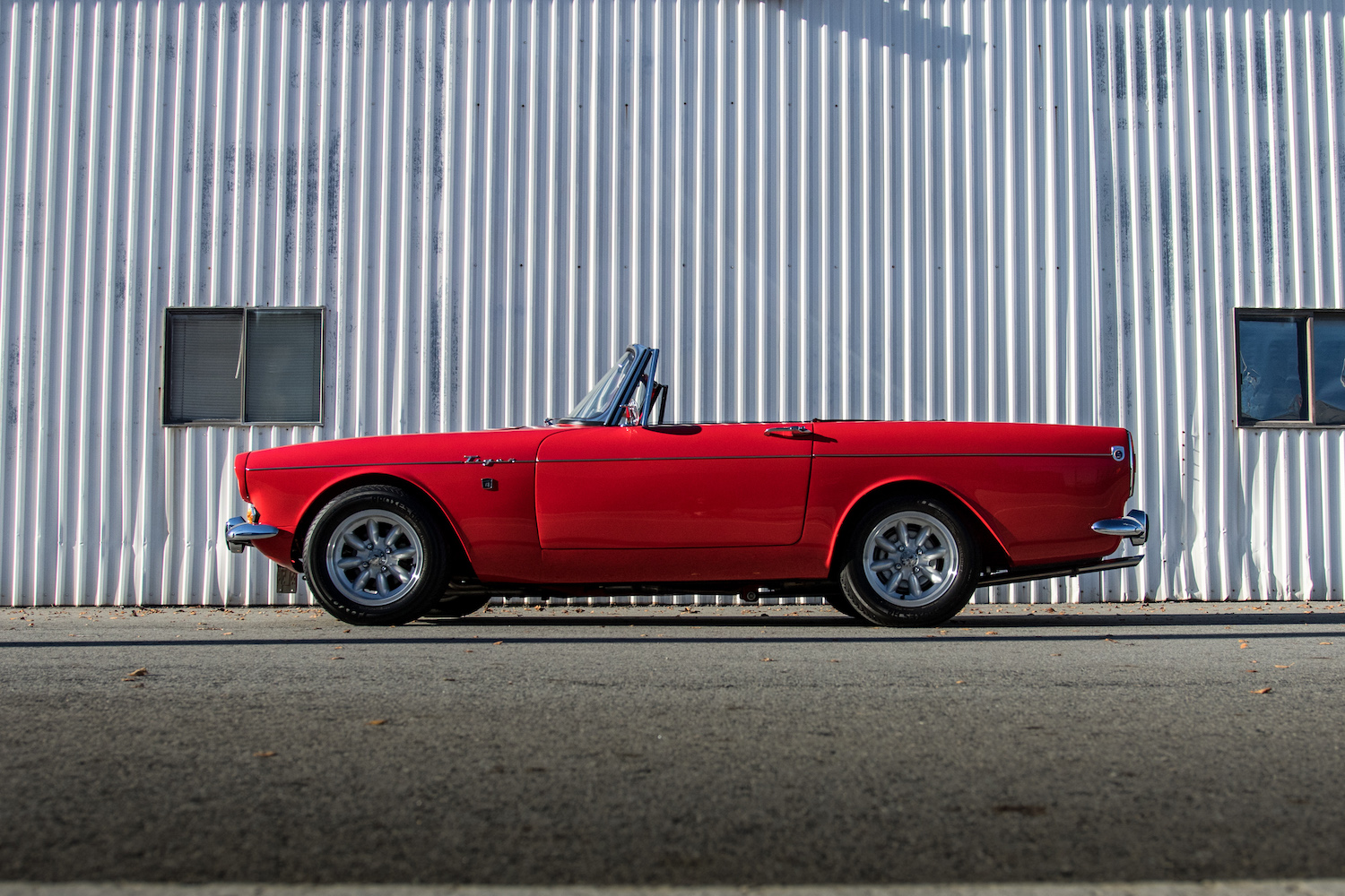 sunbeam tiger side profile