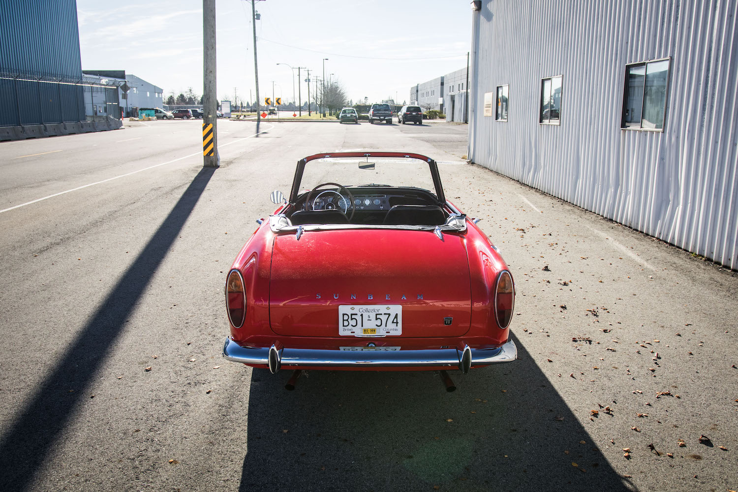 red sunbeam tiger rear