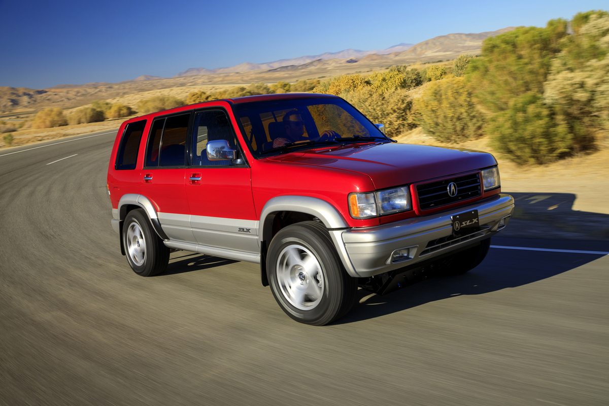 Acura swapped a 350-hp RDX powertrain into this '97 SLX