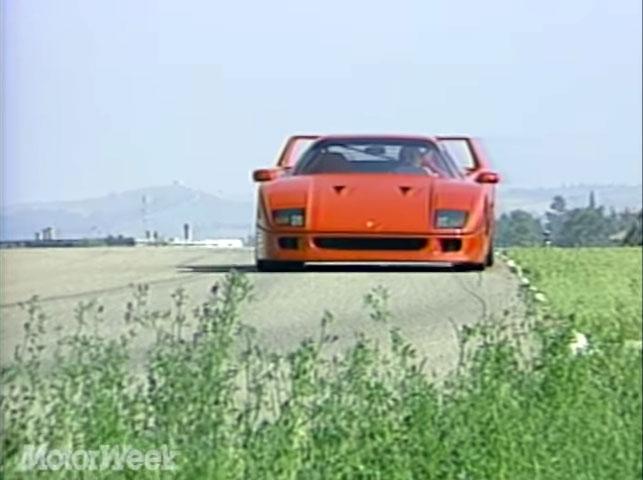 """This retro """"MotorWeek"""" episode is peak '80s Ferrari"""