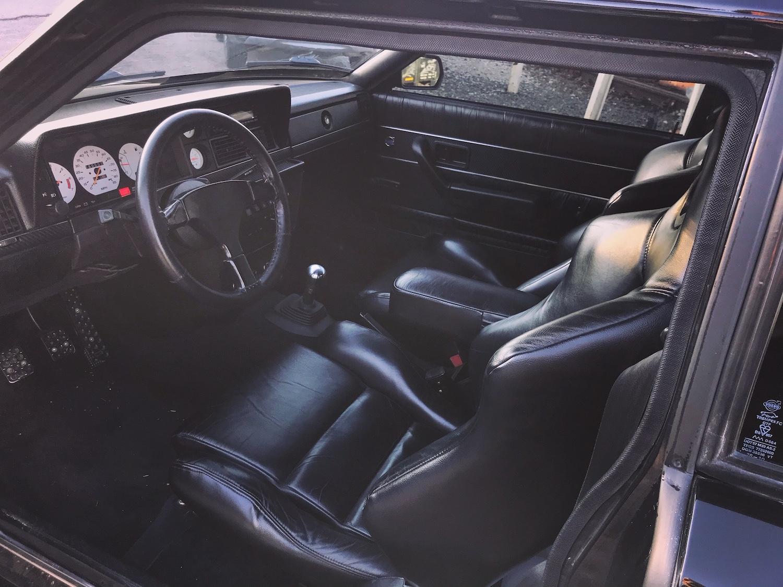 1979 Volvo 262c Bertone interior