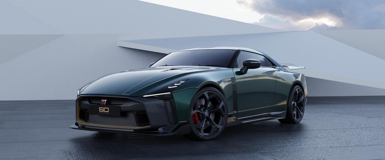 Italdesign GT-R50 green rendering