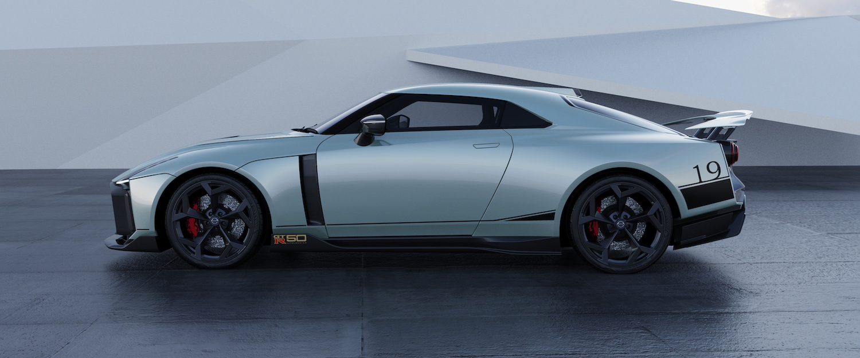 Italdesign GT-R50 silver rendering