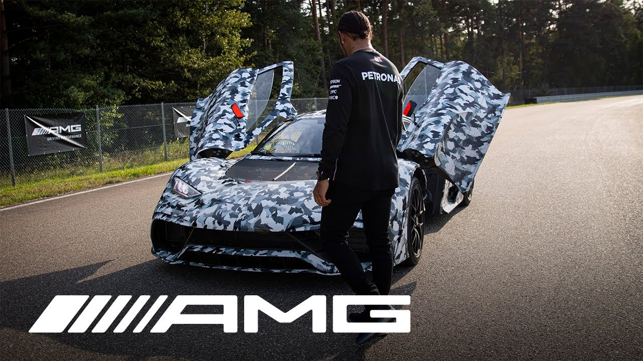 Listen to Mercedes-AMG's Project ONE hypercar prototype at speed thumbnail