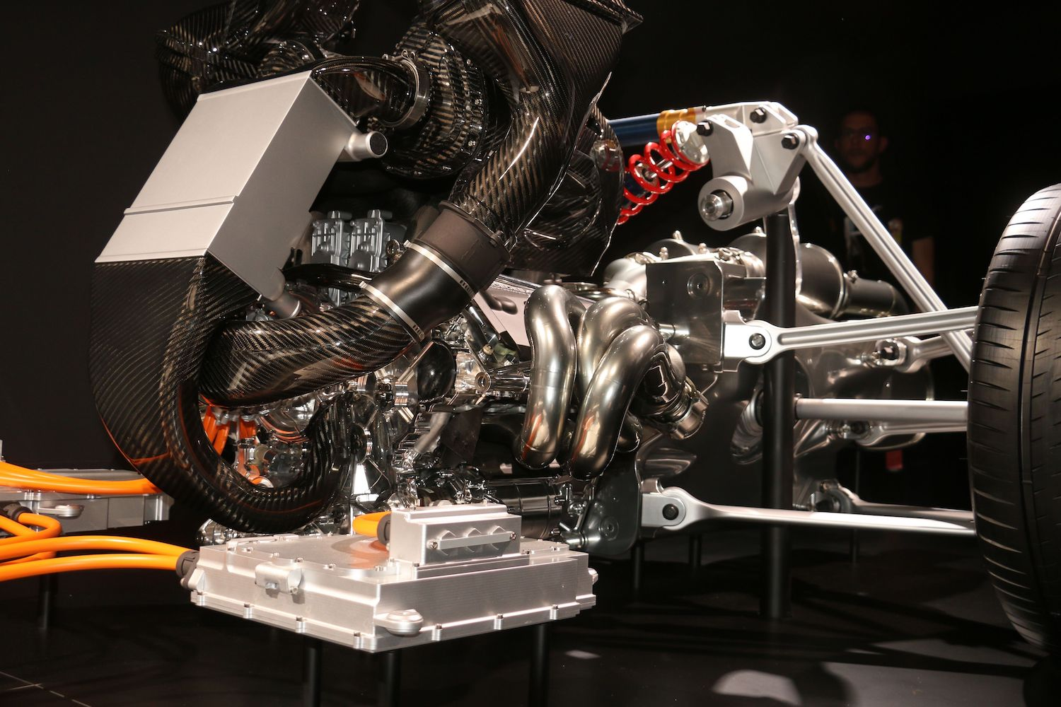 AMG powertrain close up detail