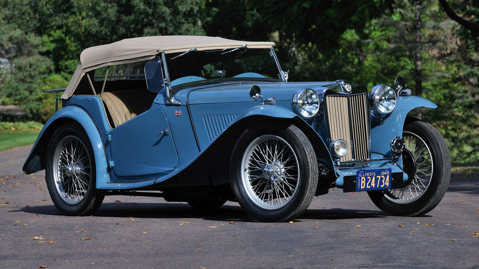 Can you solve the mystery of this 1949 MG TC?
