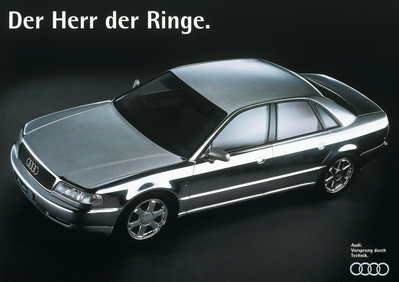 vintage audi a8 german ad