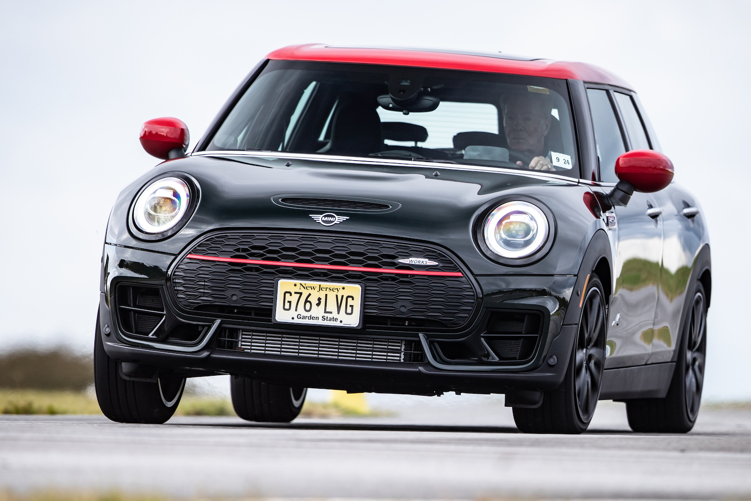 2020 Mini John Cooper Works Clubman front three-quarter action