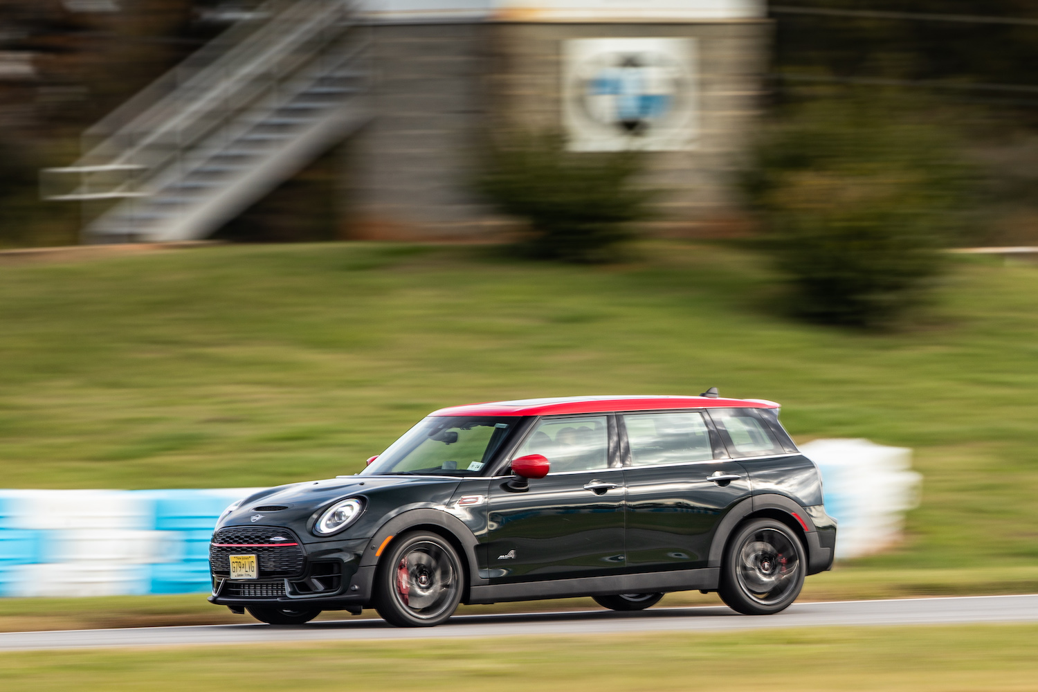 2020 Mini John Cooper Works Clubman side-profile action