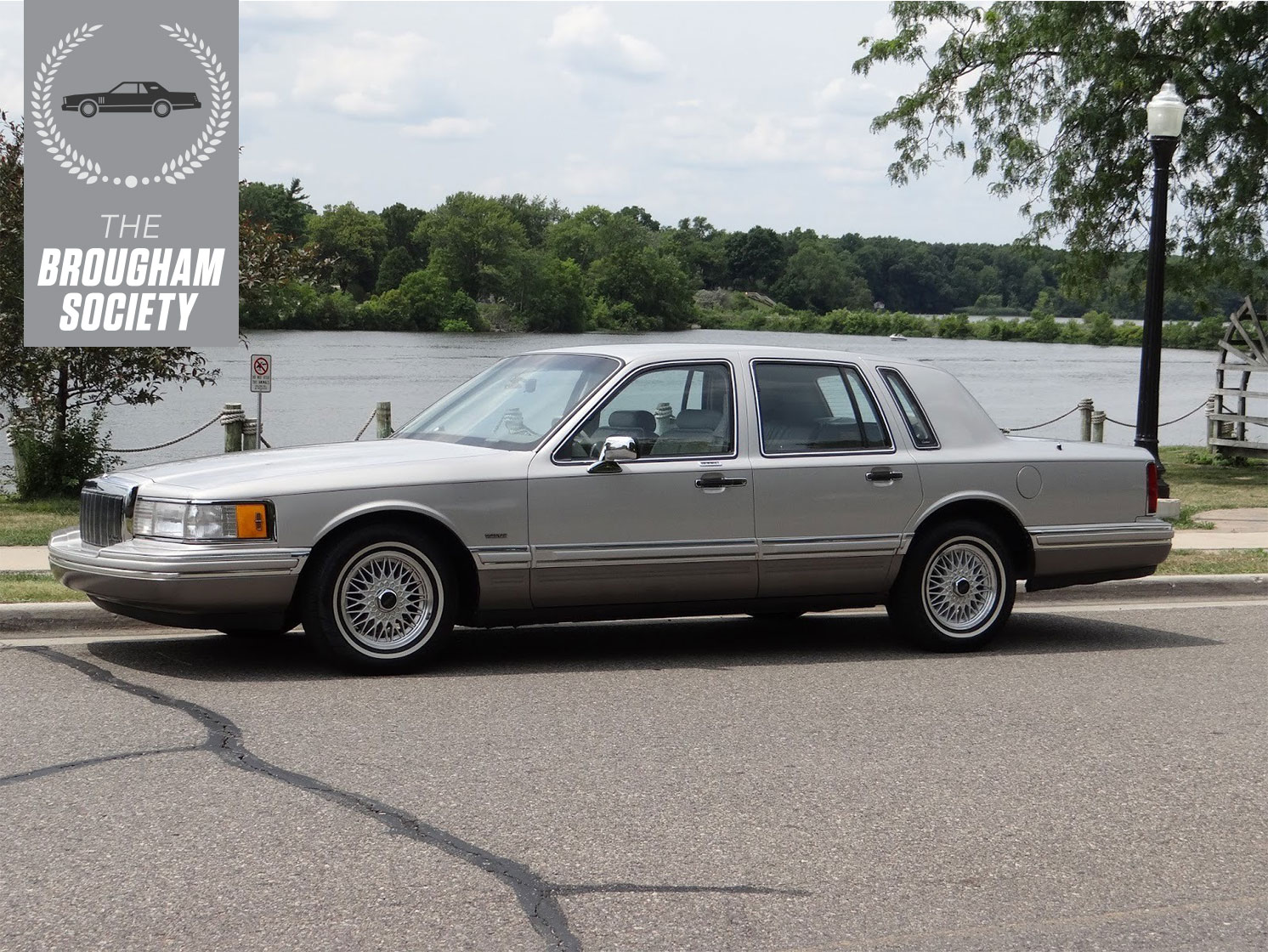 The 1991 Lincoln Town Car Cartier was travel on a grander scale