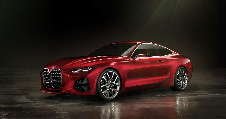 2021 BMW M4 Concept 4 front three-quarter