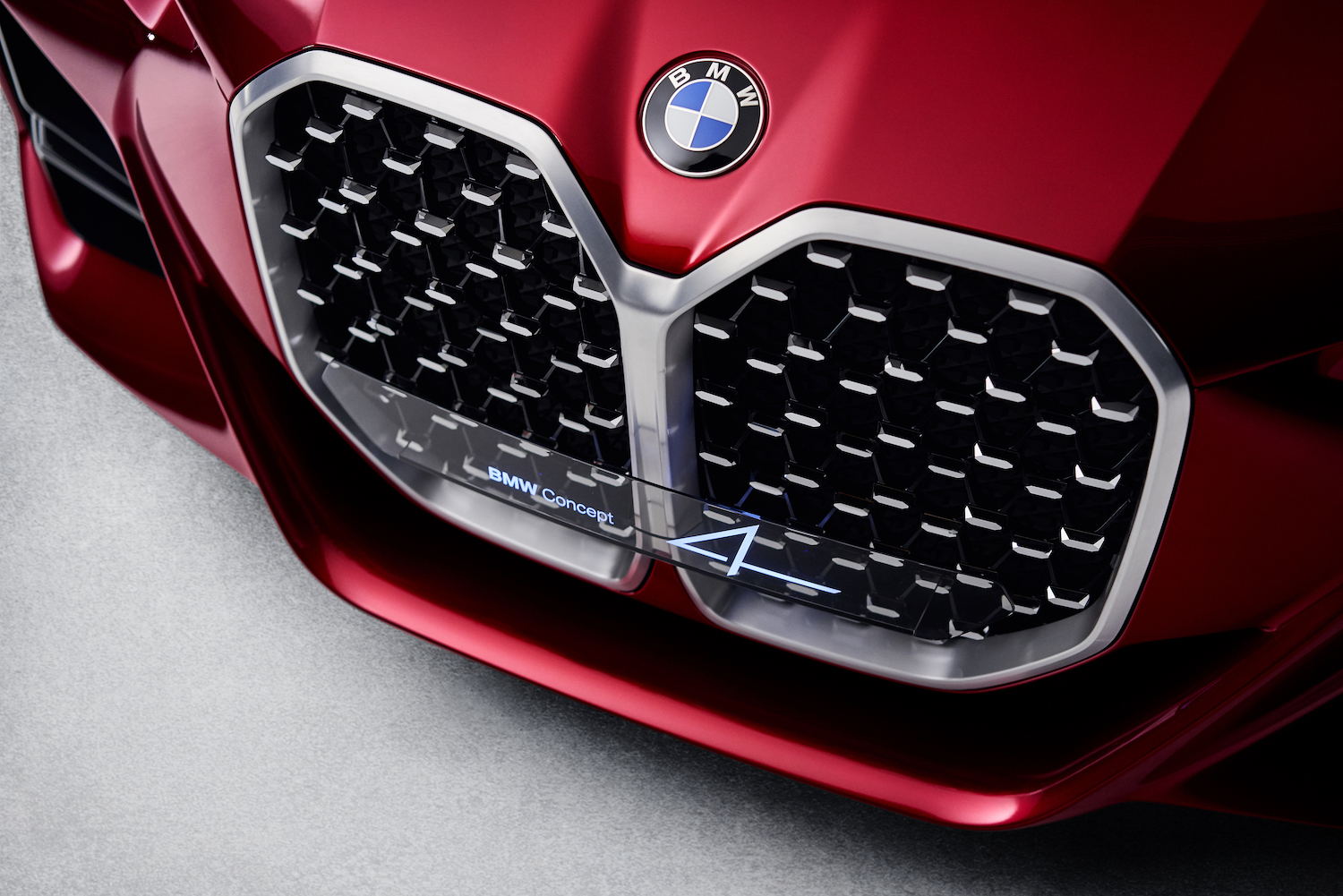 2021 BMW M4 Concept 4 front grille kidneys