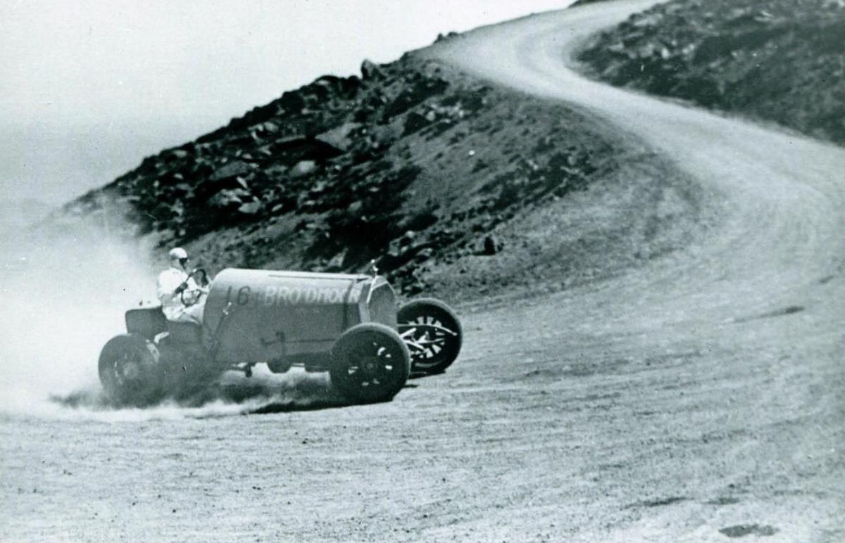 original broadmoor pierce arrow climbs pikes peak