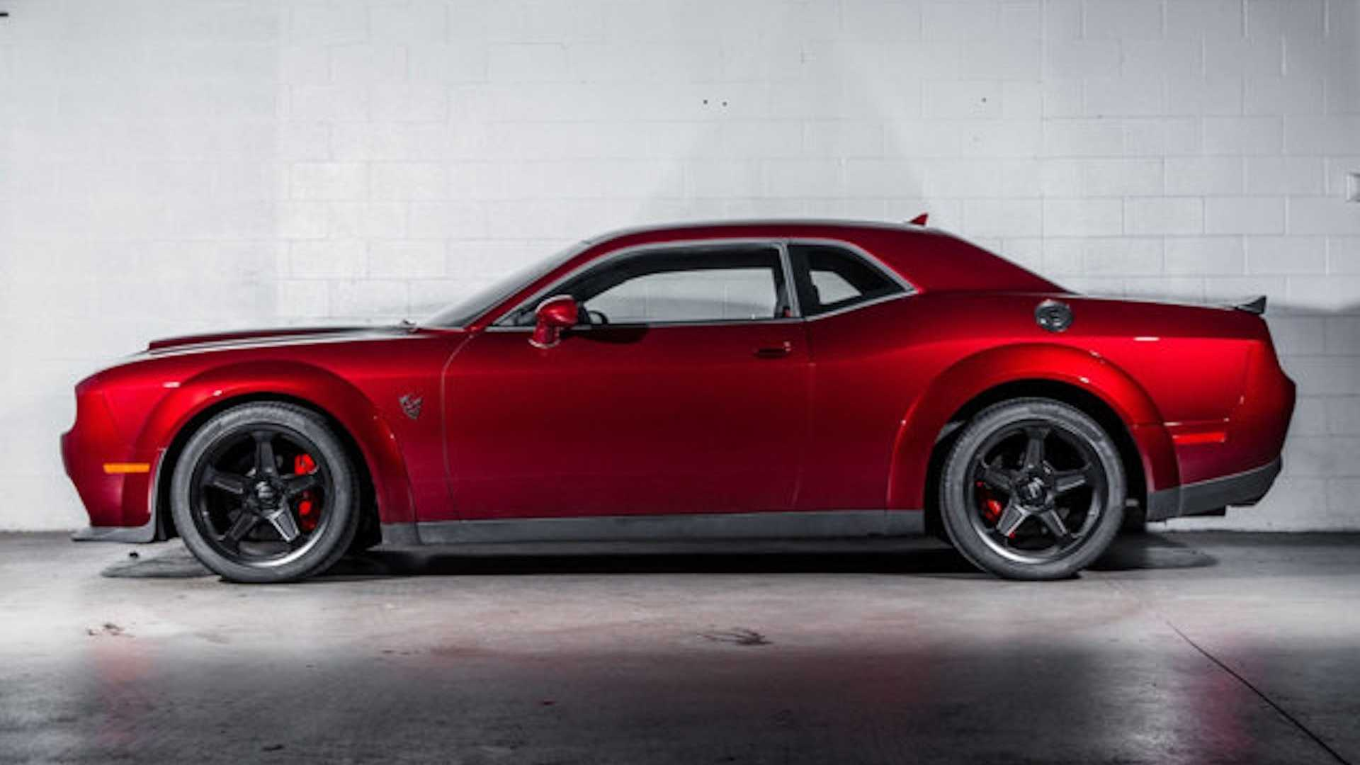 ralph gilles dodge demon side profile