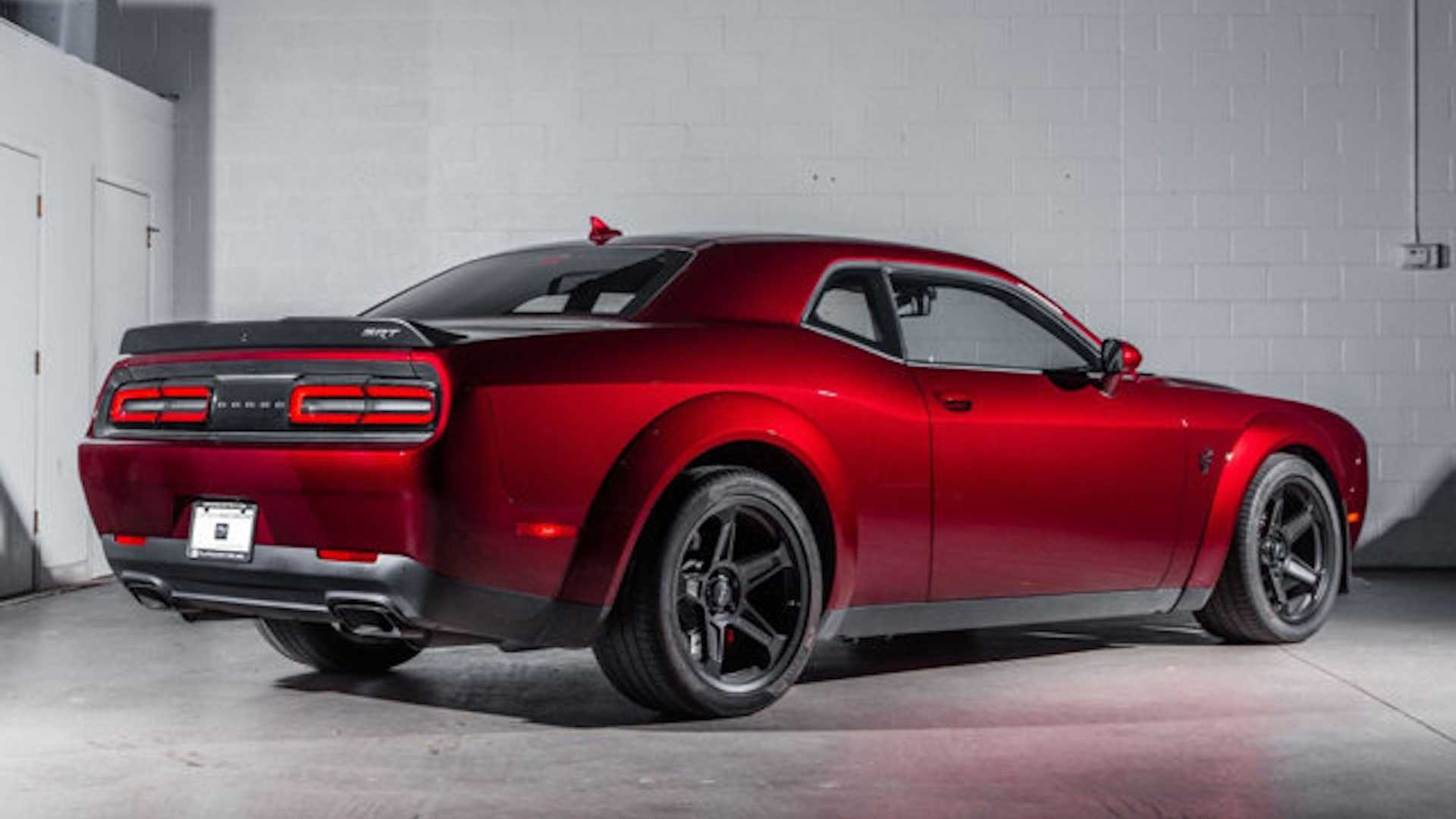ralph gilles dodge demon rear three-quarter