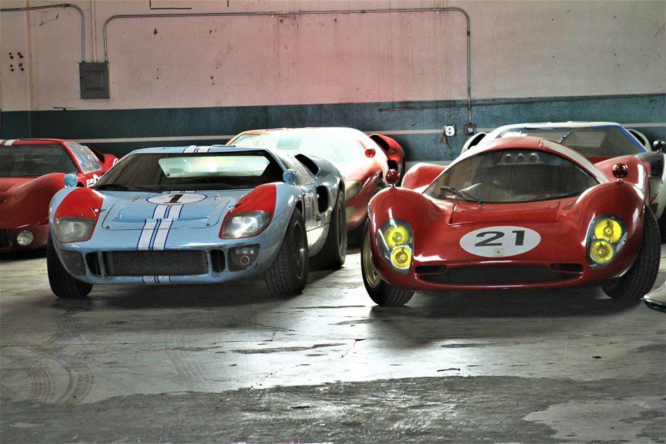 "Trove of ""Ford v Ferrari"" movie cars found in southern California"