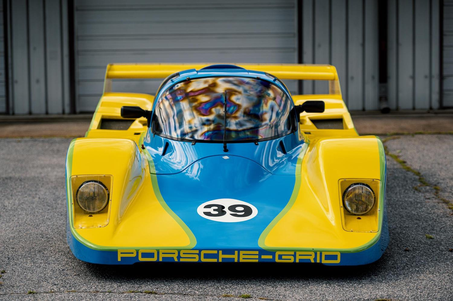 Snag this offbeat Group C car for Porsche power, British roots, and Le Mans allure
