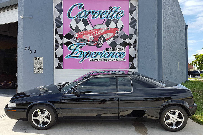 Mosler TwinStar Cadillac Eldorado side profile