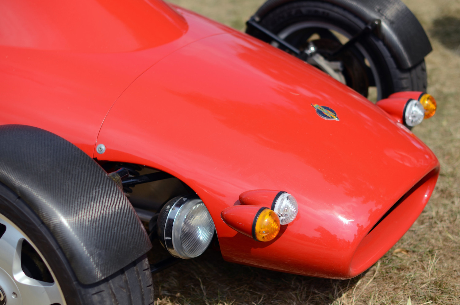 This open-air Rocket is a high-revving featherweight on four wheels