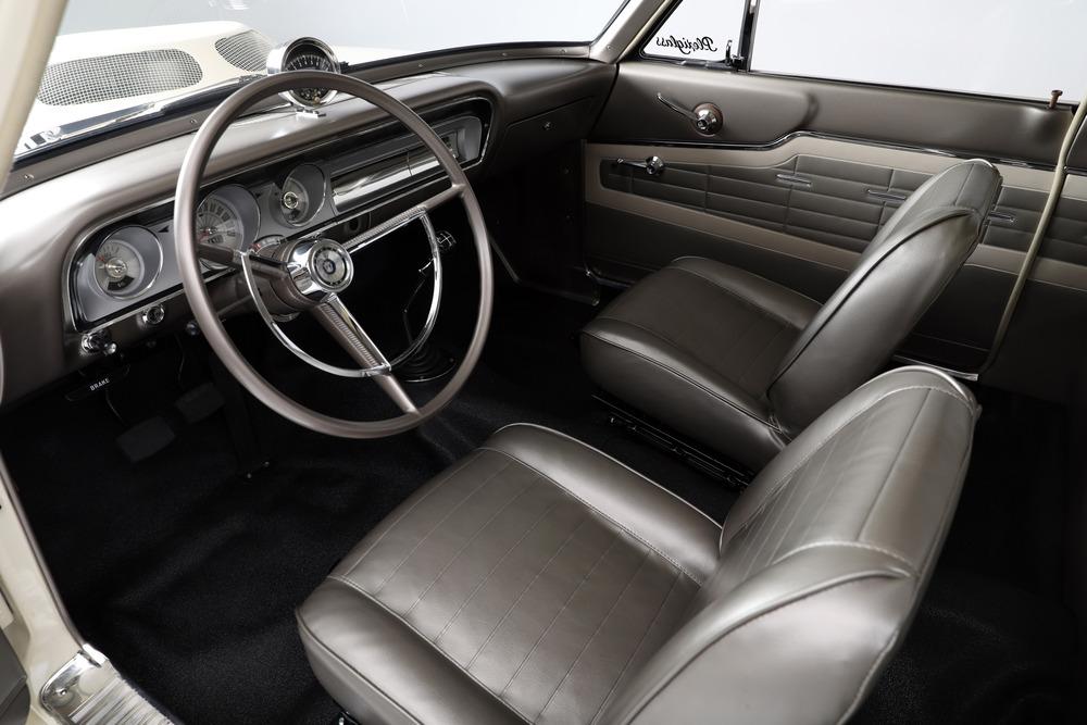 1964 Ford Fairlane Thunderbolt front interior
