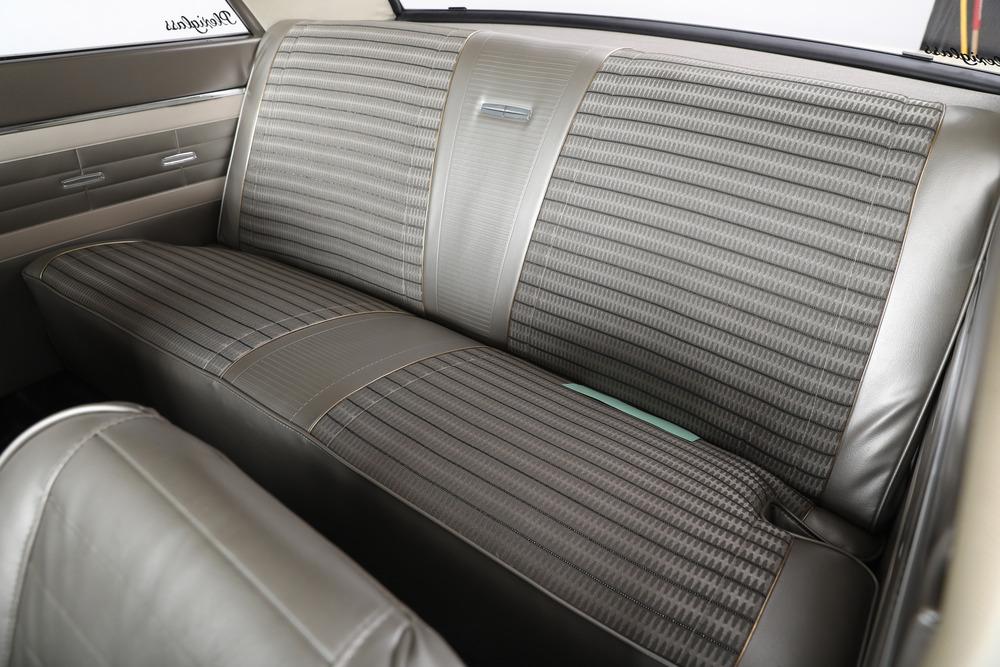 1964 Ford Fairlane Thunderbolt rear interior