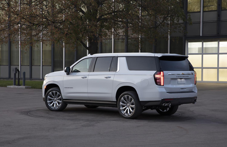 Chevrolet Suburban rear three-quarter