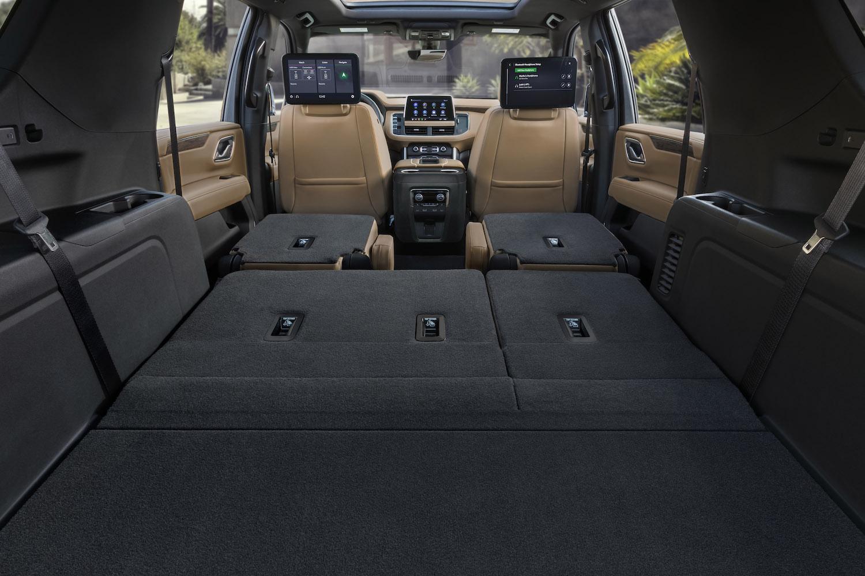 interior cargo space seats down