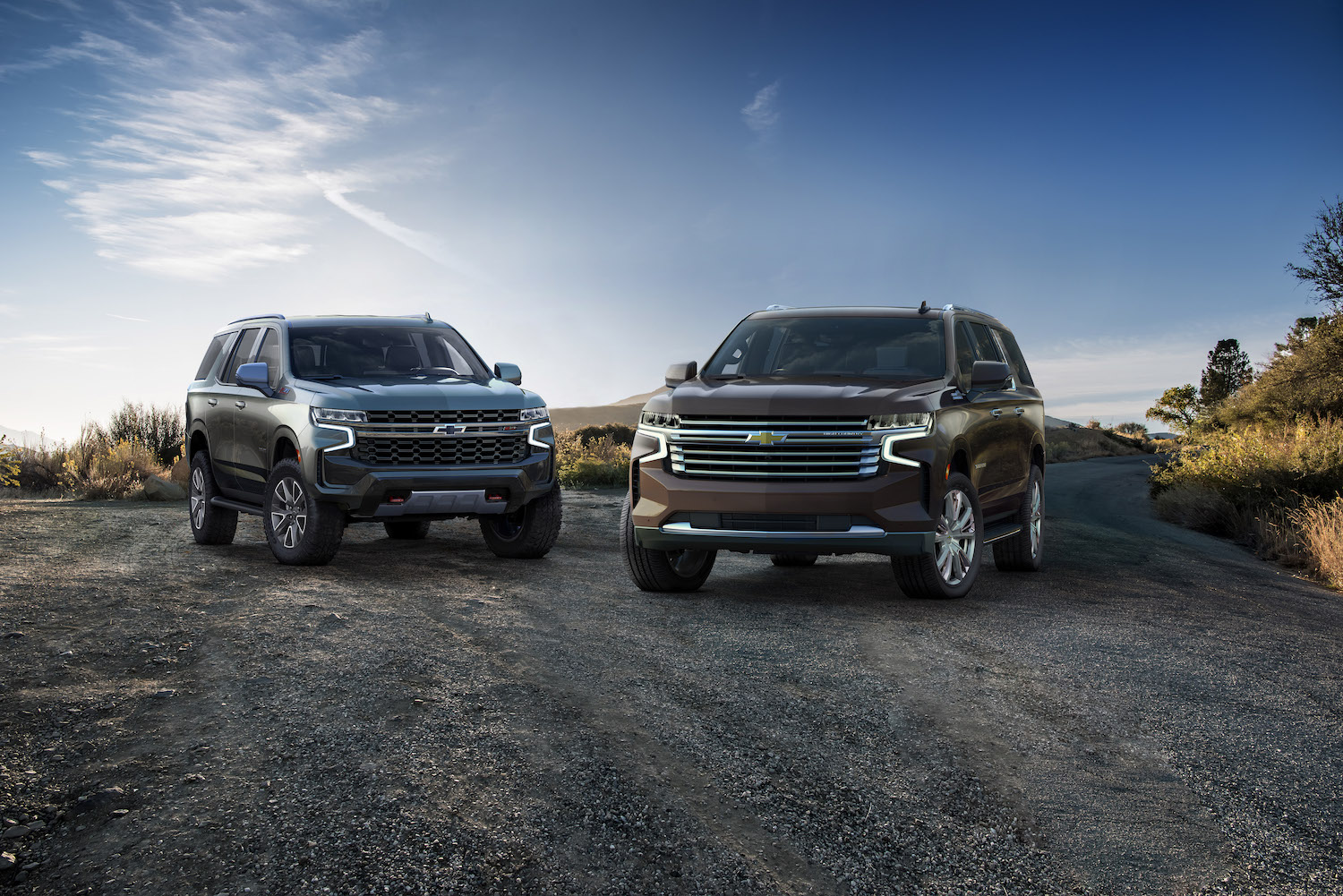 2021 Chevrolet Suburban and Tahoe revealed