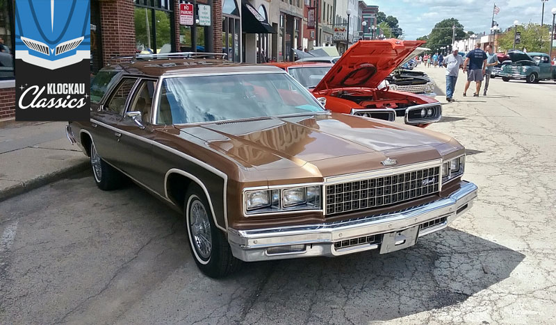 The 1976 Chevrolet Caprice Estate was large and lovely