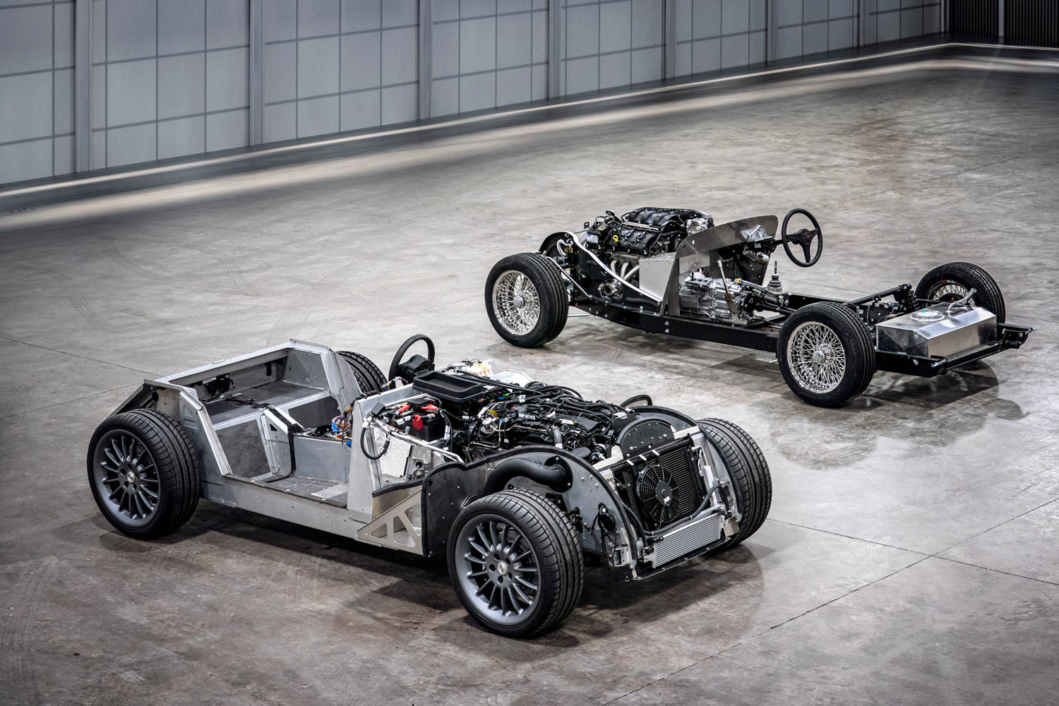 Morgan's aluminum CX chassis will open up a world of possibilities