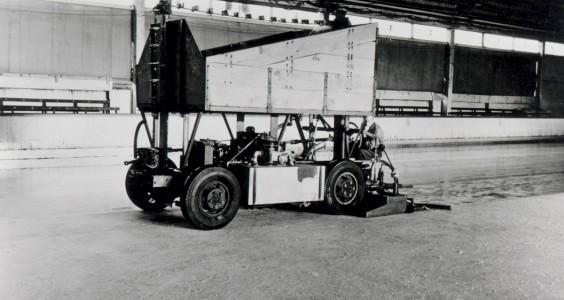 How Frank Zamboni's frankensteined Model A revolutionized the ice rink