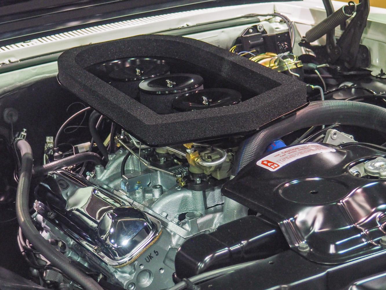 1966 Pontiac Ram Air GTO engine
