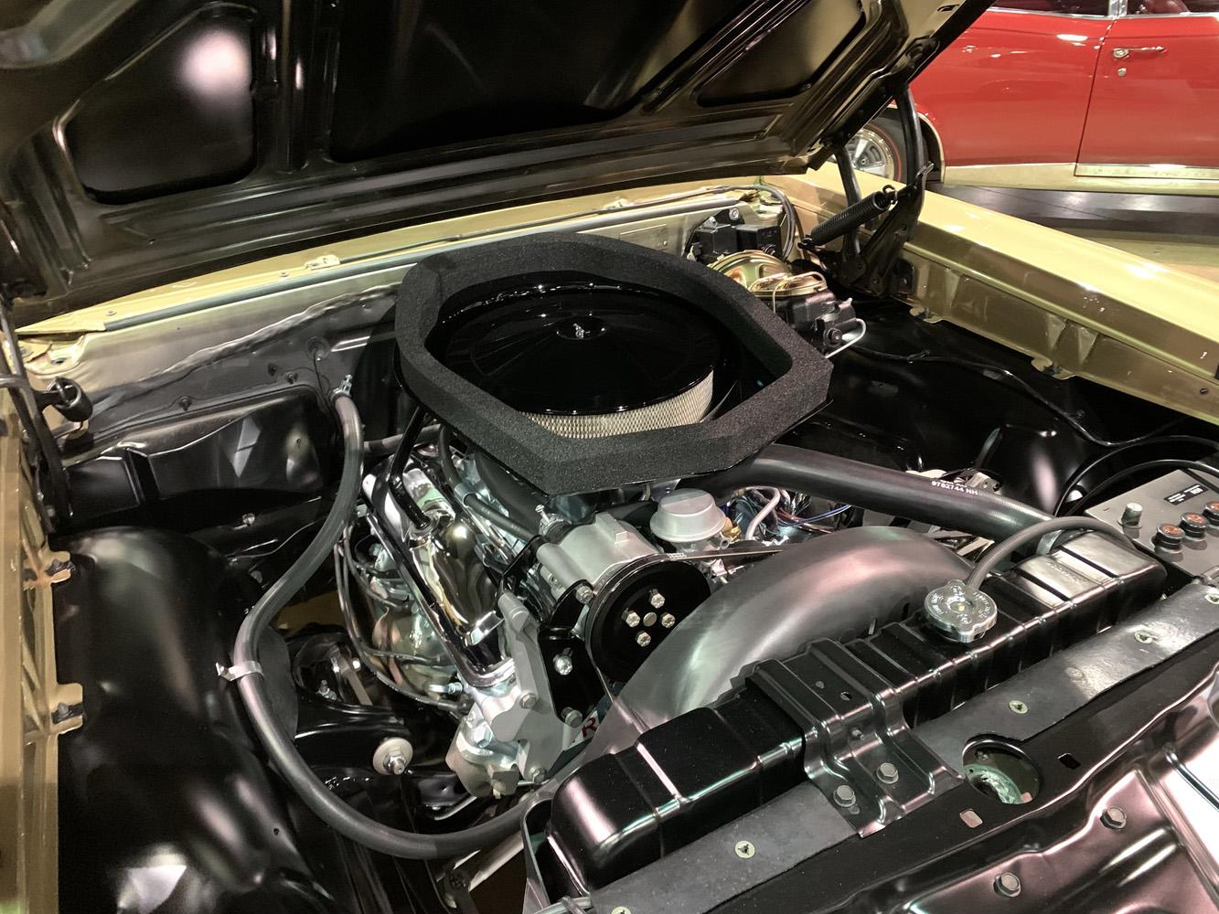 1967 Pontiac Ram Air GTO engine