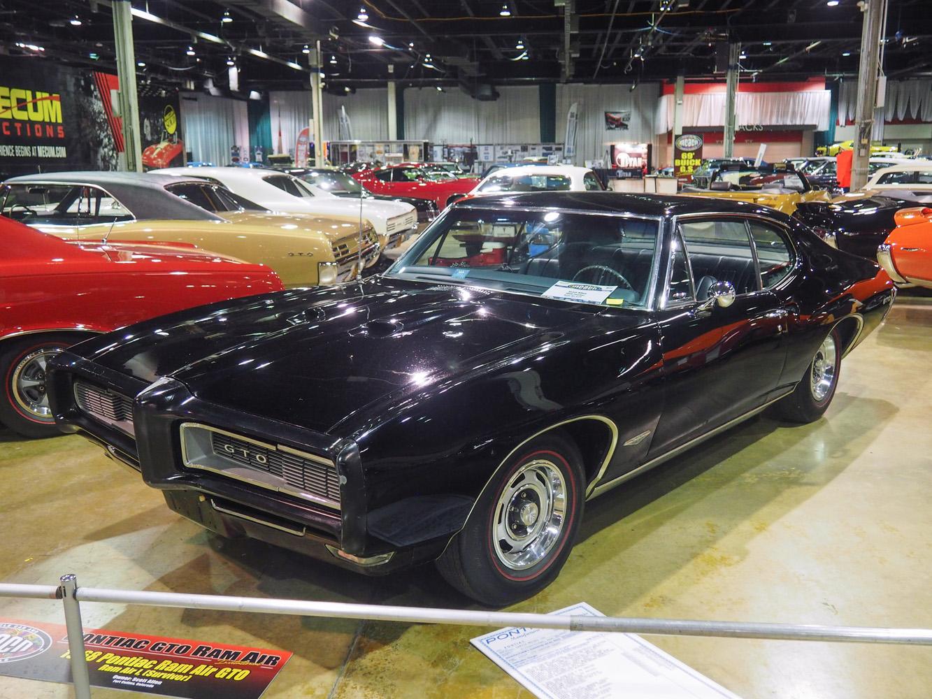1968 Pontiac Ram Air GTO