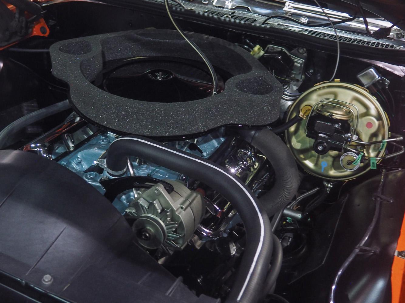 1969 Pontiac GTO Ram Air III egnine