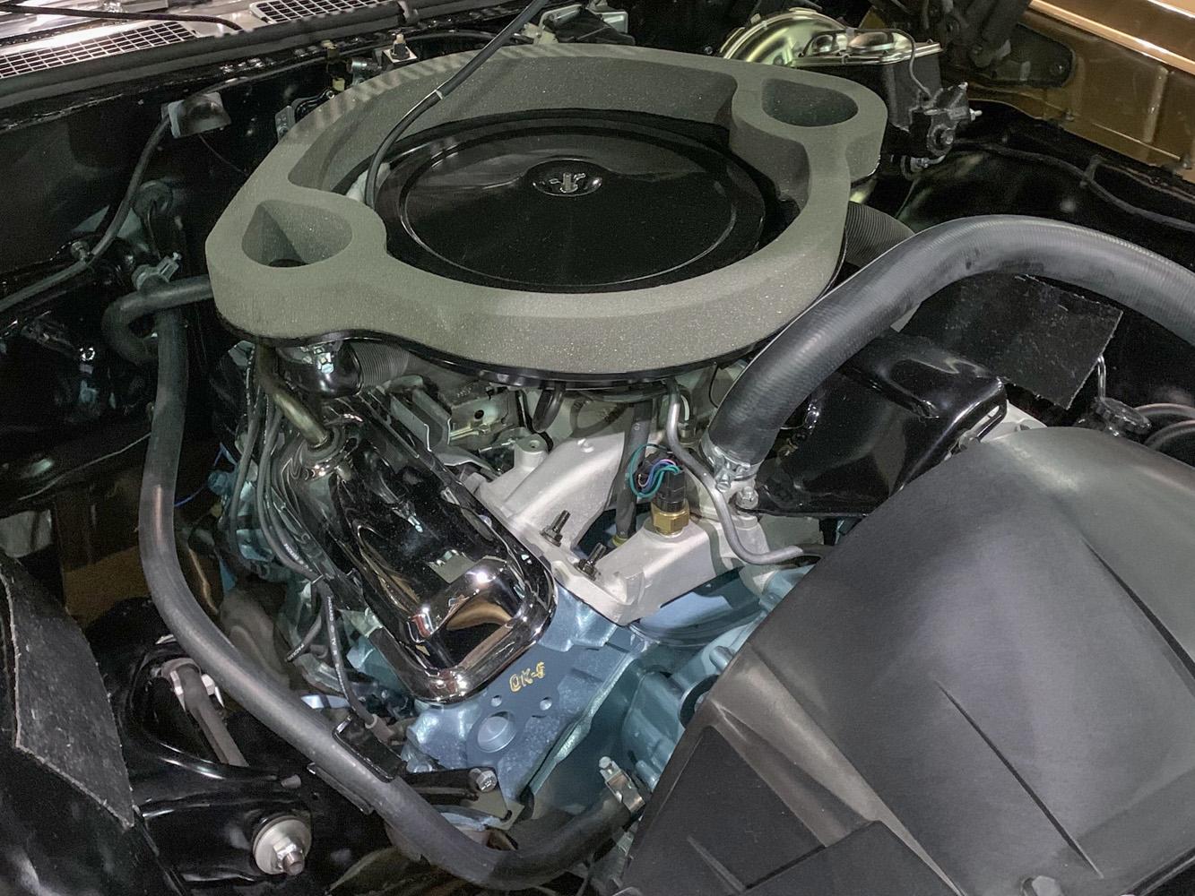 1970 Pontiac Ram Air IV GTO engine